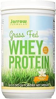 Jarrow Formulas Whey Protein Grass Fed, Sports Nutrition, Vanilla, 370 g, 13.8 Ounce (VAN1G)