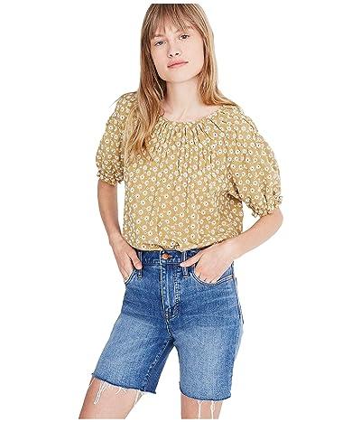 Madewell High-Rise Mid-Length Denim Shorts in Gosford (Gosford) Women
