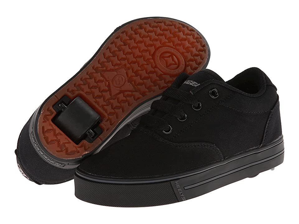 Heelys Launch (Little Kid/Big Kid/Adult) (Black) Boys Shoes