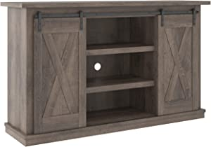 Signature Design by Ashley Arlenbry Farmhouse TV Stand, Fits TVs up to 52