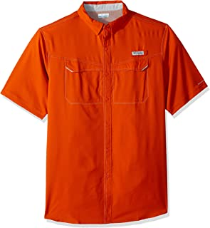 Men's Low Drag Offshore Short Sleeve Shirt, UPF 40 Sun Protection and Moisture Wicking