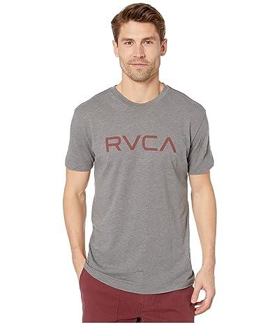 RVCA Big RVCA T-Shirt Short Sleeve (Grey/Red) Men