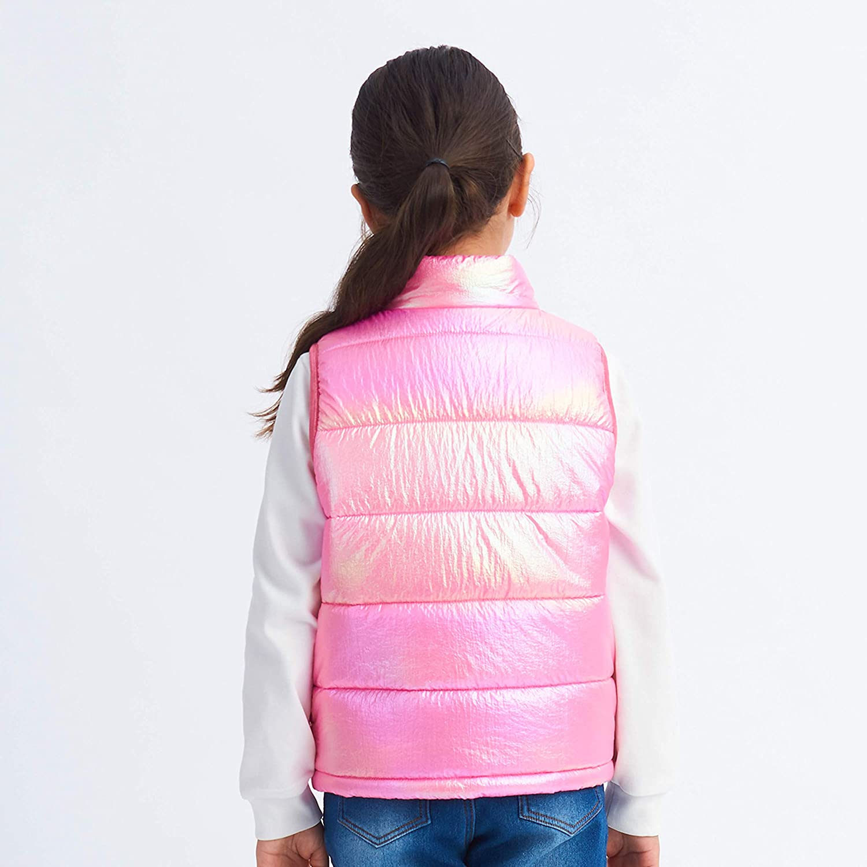 IKALI Boys Girls Gilet Puffer Vest Sleeveless Winter Jackets Choice of Colours