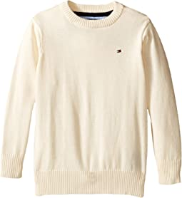 Long Sleeve Alan Crew Neck Sweater (Toddler/Little Kids)