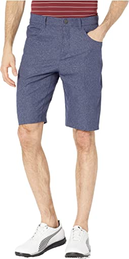 Jackpot Five-Pocket Heather Shorts