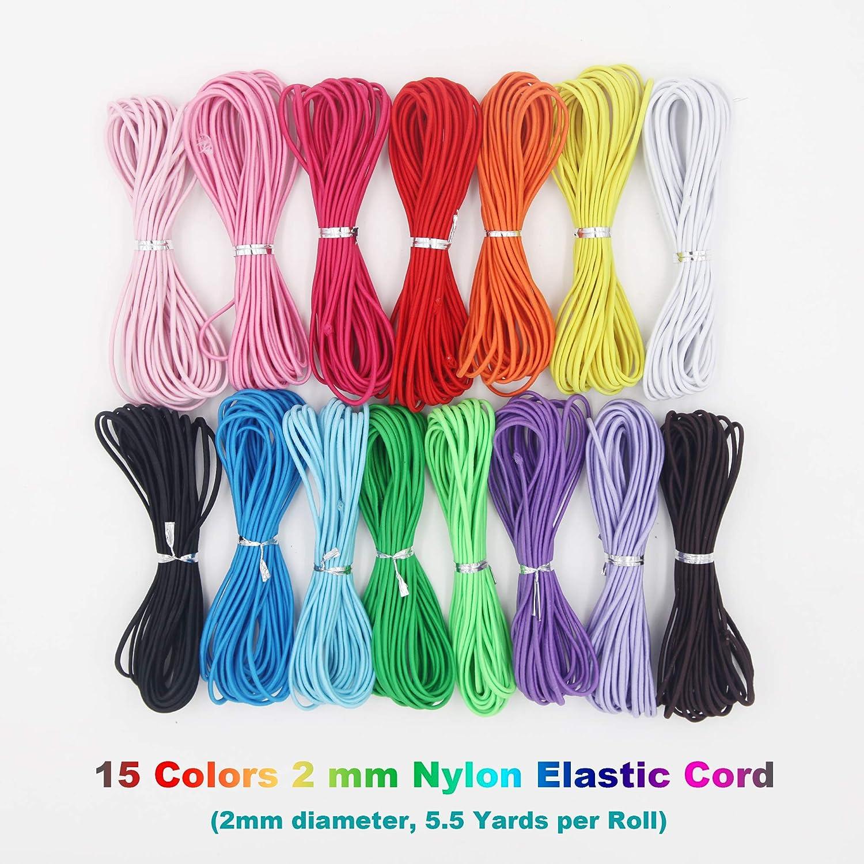 5 m cord purple nylon 1 mm