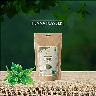 WILD ORGANIC 100% Natural Organic Heena Powder Hair Growth - 100 Grams