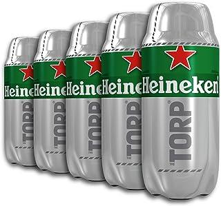 comprar comparacion Heineken Cerveza - Caja de 5 Torps Diseñado exclusivamente para THE SUB x 2L - Total: 10 L