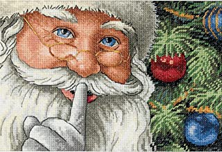 Dimensions Needlecrafts Counted Cross Stitch, Santa's Secret