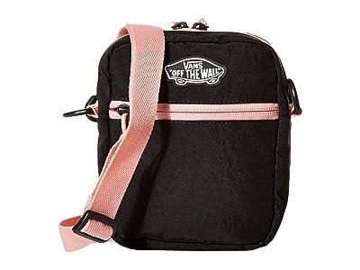 Vans Street Ready II Crossbody (Black/Black) Handbags