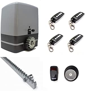 ... 4 metros de cremallera de acero + 4 mandos a distancia TX4 + sensor de reflexión. Para automatizar puertas y cancelas correderas de garaje y parking.