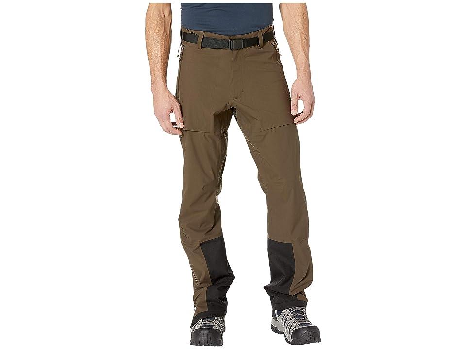 Fjallraven Keb Eco-Shell Trousers (Dark Olive) Men