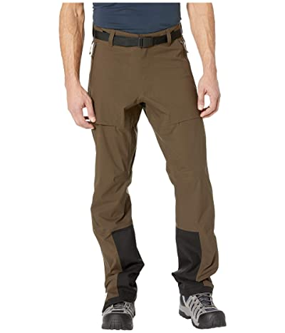 Fjallraven Keb Eco-Shell Trousers (Dark Olive) Men