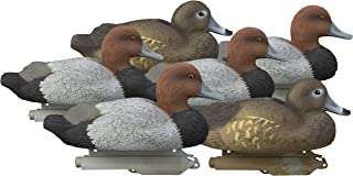 Higdon Outdoors Standard Red Head Duck Decoys, Foam Filled