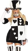 Leg Avenue Women's Black Wonderland White Rabbit Costume
