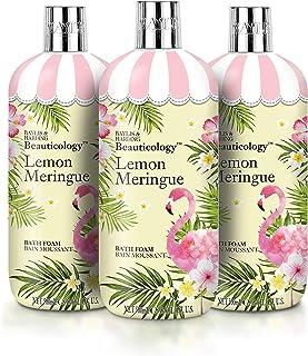 Baylis & Harding Beauticology Lemon Meringue, 500 ml Bath Foam, Pack of 3