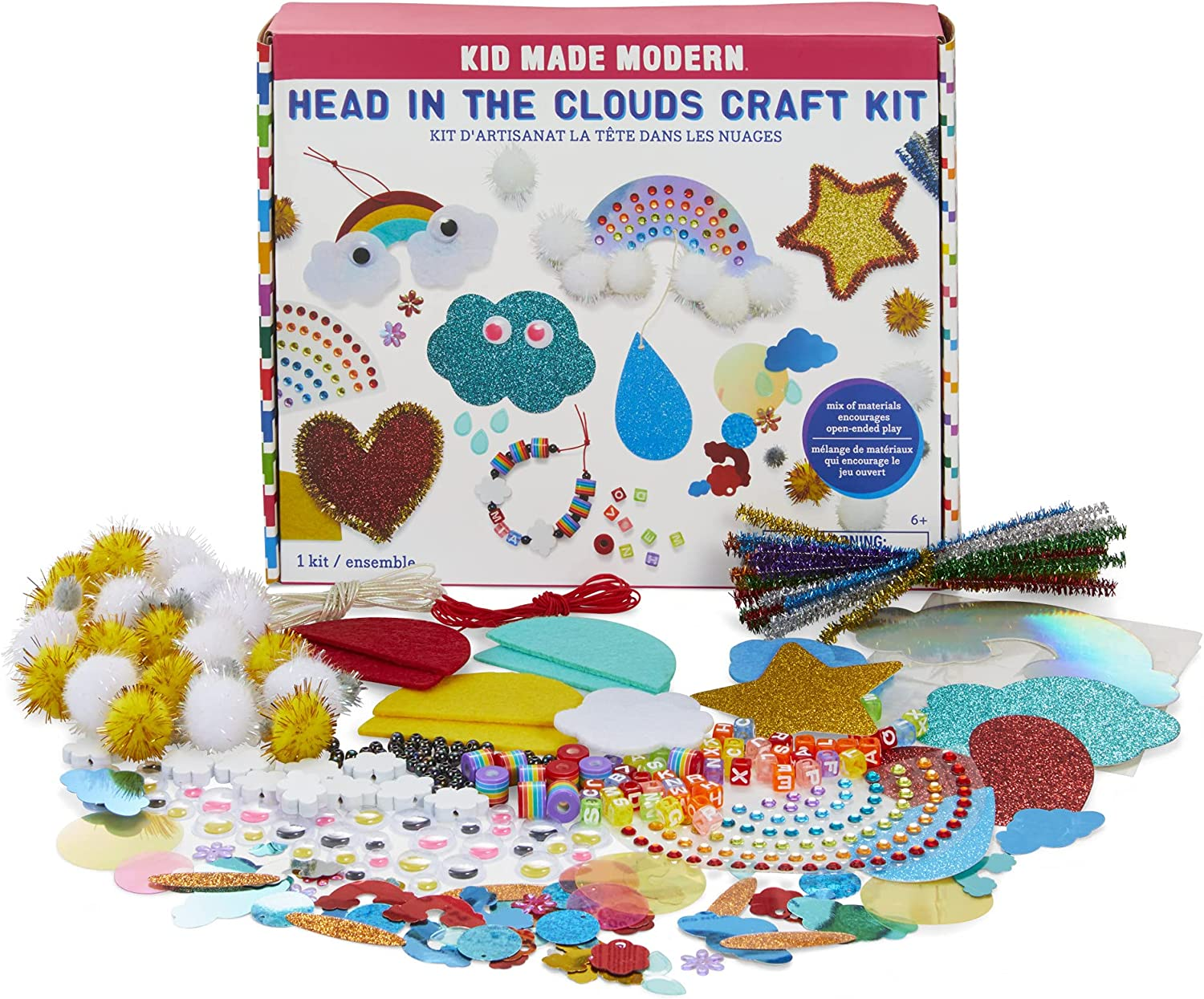 Kid Made Modern Arts Crafts store Head in Weekly update - 300 Craft Clouds The Kit