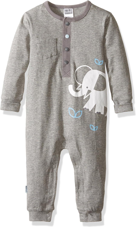 Kushies Baby Mix N Match Unionsuit Grey (Heather)