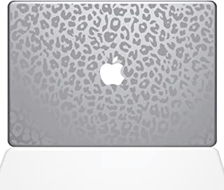The Decal Guru 2047-MAC-13A-S Leopard Spots Decal Vinyl Sticker, Silver, 13