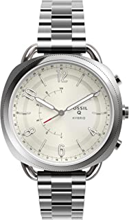 Fossil Women's Accomplice Stainless Steel Hybrid Smartwatch, Color: Silver (Model: FTW1202)