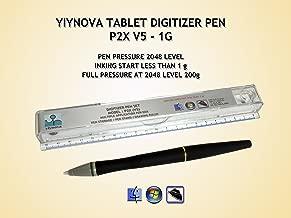 Yiynova P2X(V5) Ultra sensitive Premium Tablet Pen w/kit for YiyNova U series tablets