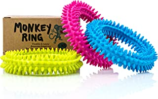 Spiky Sensory Ring/Bracelet Fidget Toy (Pack of 3) - BPA/Phthalate/Latex-Free - Fidgets Toys/Stress Rings for Children and Adults - by Impresa