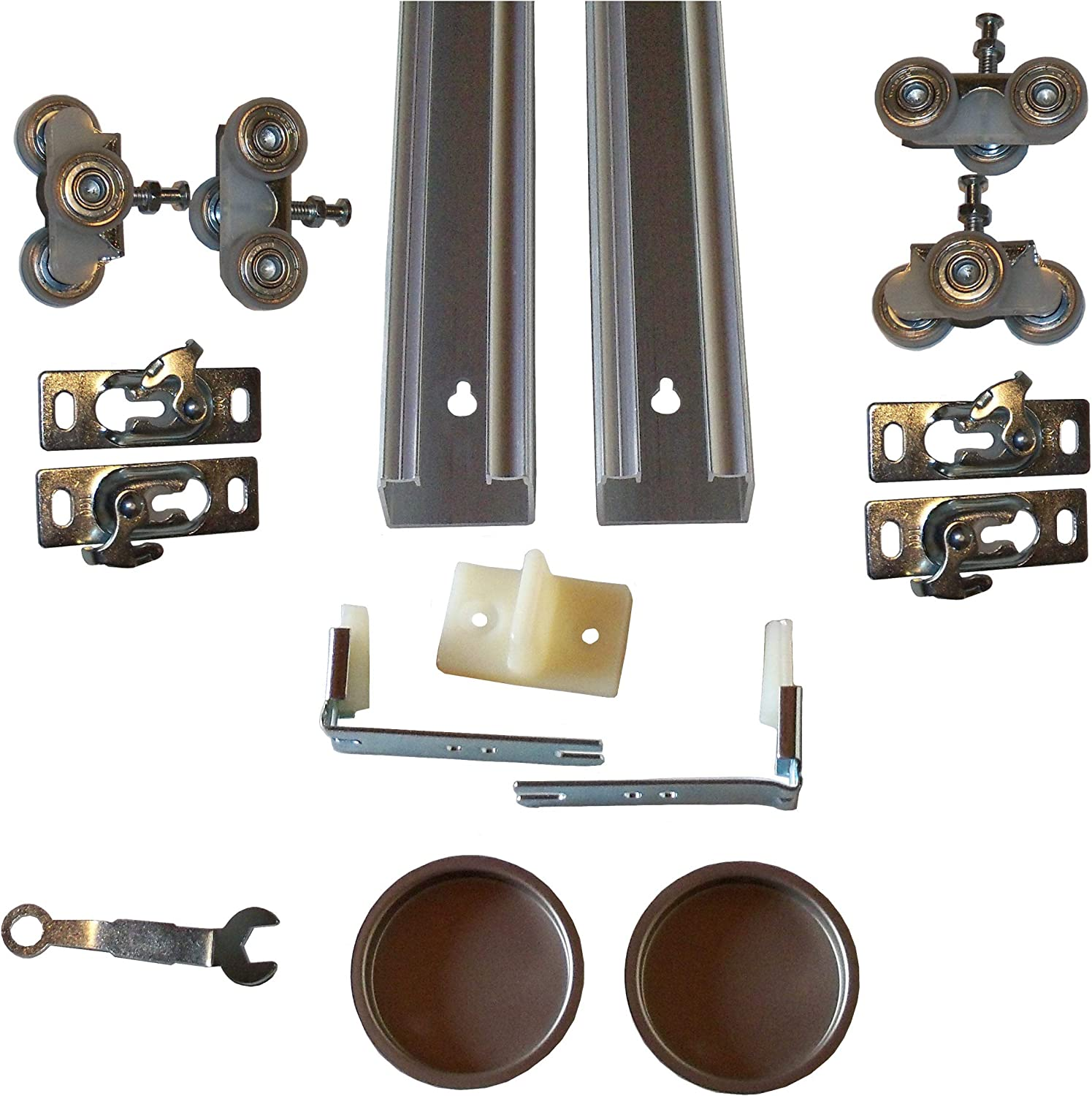 Series 2 Bypass Track and inch New Orleans Mall 60 Hardware Door Japan Maker New System