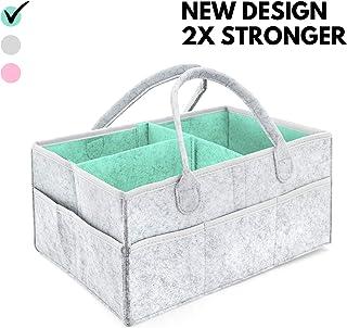 Boy Diaper Storage Bin,Felt Infant Box owl Sperrins Diaper Caddy Organizer