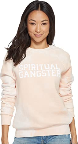 Spiritual Gangster - SG Varsity Long Sleeve Top