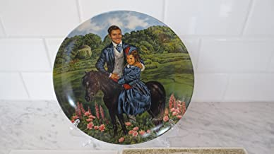 Knowles Collector Plates - 1985 Gone With The Wind Collection Plate #8 of 9 - Bonnie & Rhett