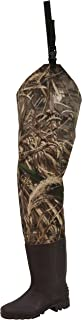 Frogg Toggs Rana II PVC Bootfoot Camo Hip Wader, Cleated Outsole