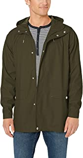 Helly-Hansen mens Moss Long Hooded Fully Waterproof Windproof Raincoat Jacket