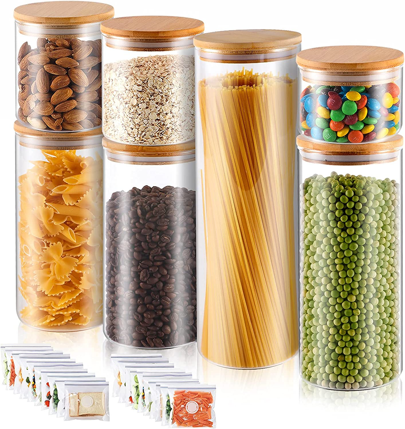 Challenge Shipping included the lowest price Glass Jars for Food Canisters H Storage Airtight