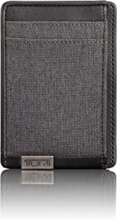 TUMI - Alpha Money Clip Card Case Wallet with RFID ID Lock for Men