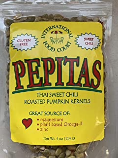 INTERNATIONAL FOODS COURT Pepitas Sweet Chili Pumpkin Kernels, 4 OZ