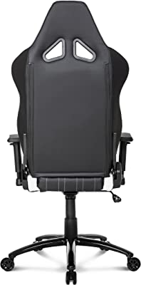 AKRACING AK-K6014-BW - Silla (Negro, Color Blanco, Negro,