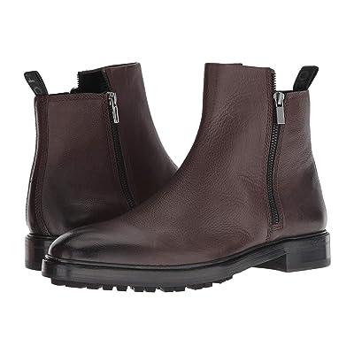 BOSS Hugo Boss Boheme Zip Casual Boot by HUGO (Dark Brown) Men