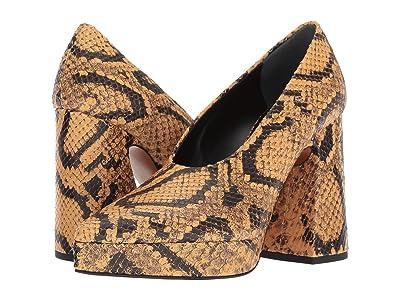 Proenza Schouler HG Pump Plat (Open Brown) High Heels