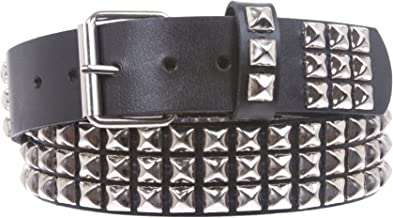 Best genuine leather studded belt Reviews