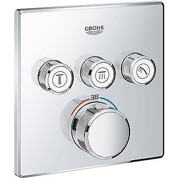 Grohe Grohtherm Smartcontrol - Termostato para Ducha con 2 Chorros Regulables, Cromo, Redondo (Ref.29119000): Amazon.es: Bricolaje y herramientas