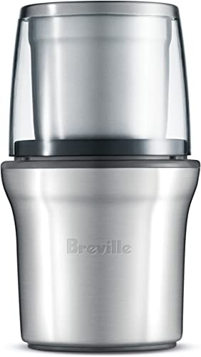 Breville BCG200BSS The Coffee & Spice Grinder, Brushed Stainless Steel product image