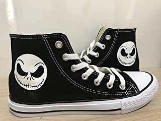 5e197fb74d4422 Nightmare Before Christmas High Top Sneakers For Women Hand Painted Shoes  Custom Chuck Taylors Chuck Taylor