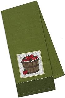 Design Import India Barrel of Apples Dish Towel, 1 EA