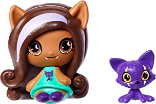 Monster High Minis Clawdeen Wolf& Crescent Figures