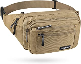 CXWMZY Waist Pack Bag Fanny Pack for Men&Women Hip Bum Bag with Large Capacity Waterproof Adjustable Strap Suitable for Ou...
