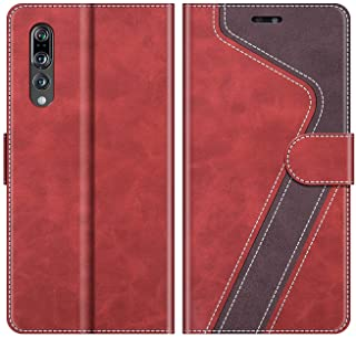 Negro//Violeta MOBESV Funda para Huawei P20 Pro Funda M/óvil Huawei P20 Pro Magn/ético Carcasa para Huawei P20 Pro Funda con Tapa Funda Libro Huawei P20 Pro