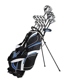 Precise Golf 18 Piece Men's Complete Golf Club Set