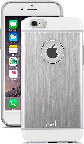 new arrival Moshi iGlaze Armour online sale Aluminum 2021 iPhone 6/6s Case - Jet Silver outlet sale