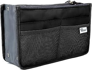 Periea Handbag Organiser - Chelsy - 28 Colours Available - Small, Medium Large (Large, Black)