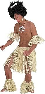 Native African Hula Skirt Fancy Dress Costume Accessory Zulu Set Pack Of 5